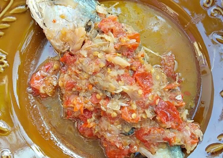 Kolak Peda (ikan peda)