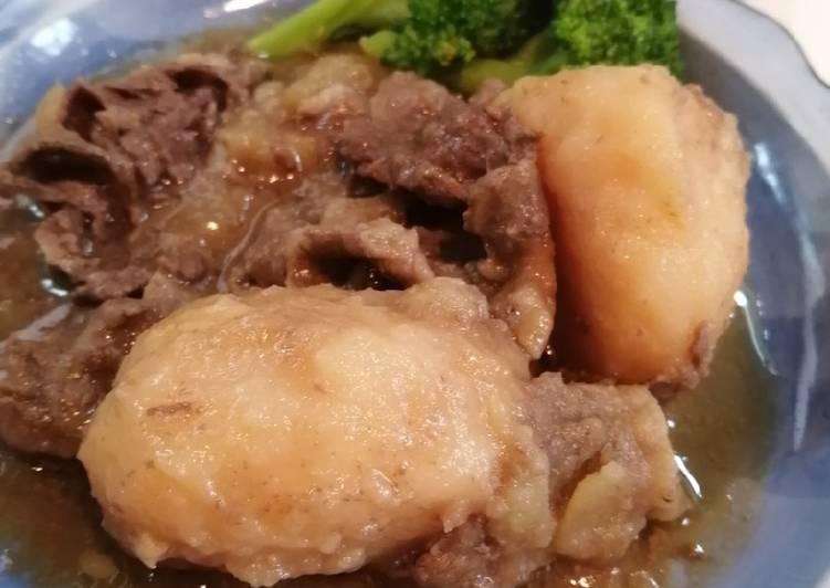 Simple Nikujaga 🥩🥔 Japanese Beef Stew