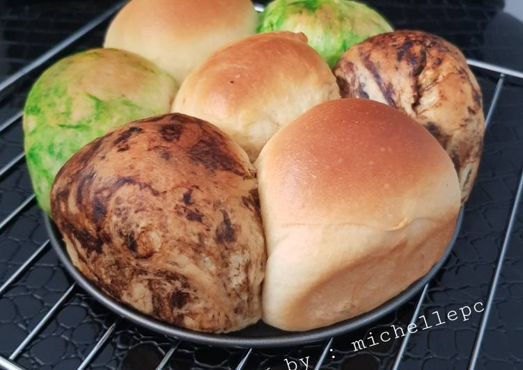#32 Roti sobek isi coklat keju | no mixer