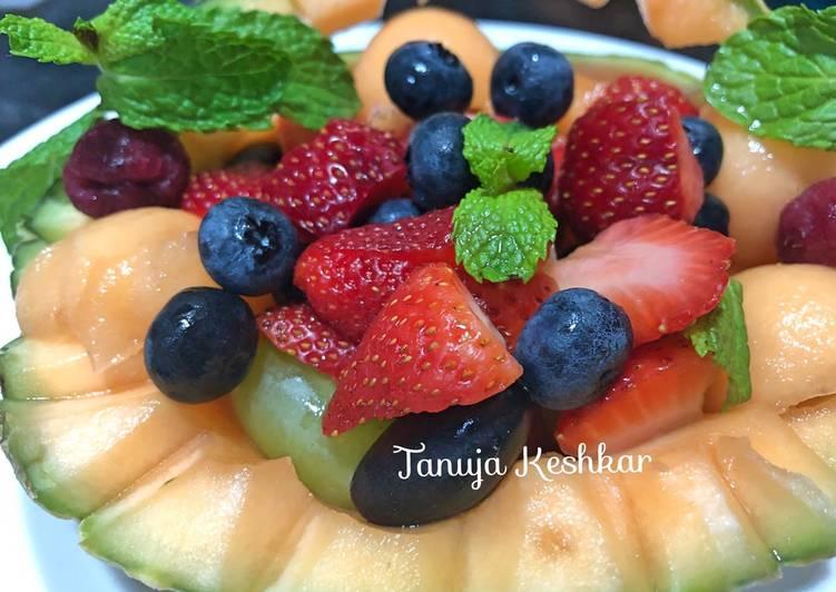 Lime mojito Fruit Salad