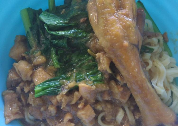 Mie Ayam Super Simple dan Enak