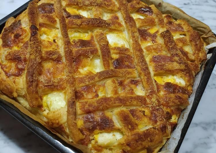 Ricetta Crostata rustica di carciofi