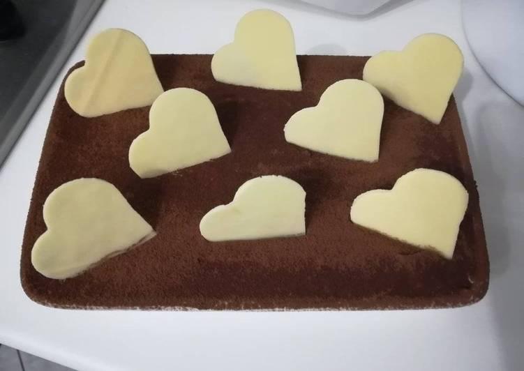 Ricetta Tiramisù di San Valentino con cuco