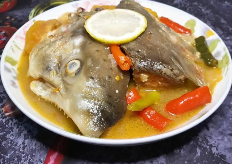 Soup Kepala Ikan Salmon