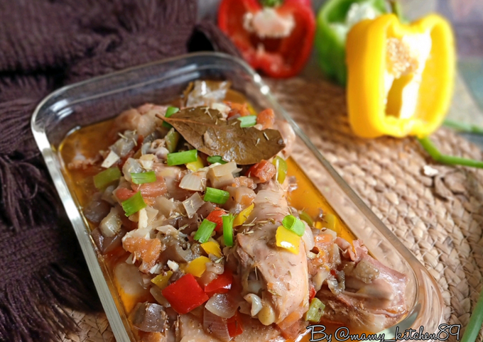 Cara Gampang Menyiapkan 🇨🇮 Kedjenou Chicken - Chicken Stew Anti Gagal