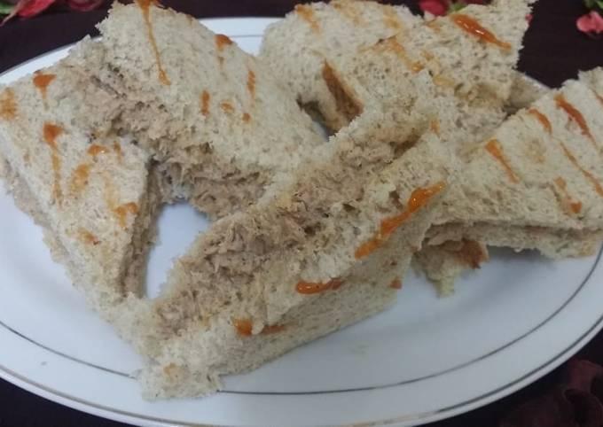 Tuna Tea-time Sandwiches