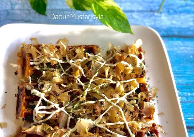 Takoyaki Mudah & Super Sedap (Versi Waffle)