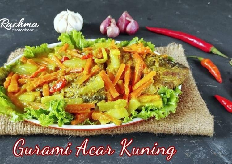 Gurami Acar Kuning / Pesmol Ikan Gurami - cookandrecipe.com