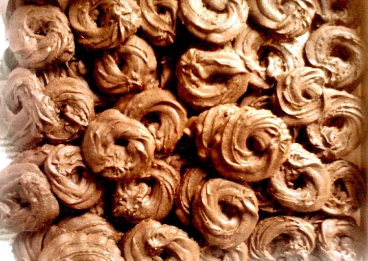 Kue Semprit Coklat #BikinRamadanBerkesan