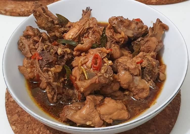Balungan Ayam Kecap Pedas