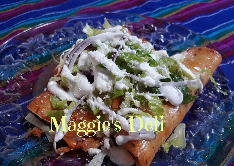 Enchiladas potosinas con chayote