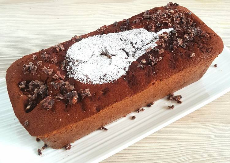 Les Meilleures Recettes de Le Cake Poire Chocolat