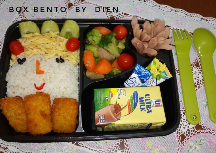 Bagaimana Menyiapkan Bento sederhana ala2 Dien 🍱 , Sempurna