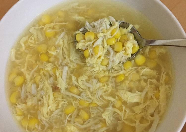 Sup Jagung Simple