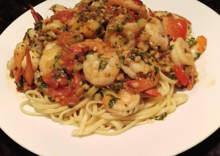 How to Prepare Favorite Shrimp Scampi
