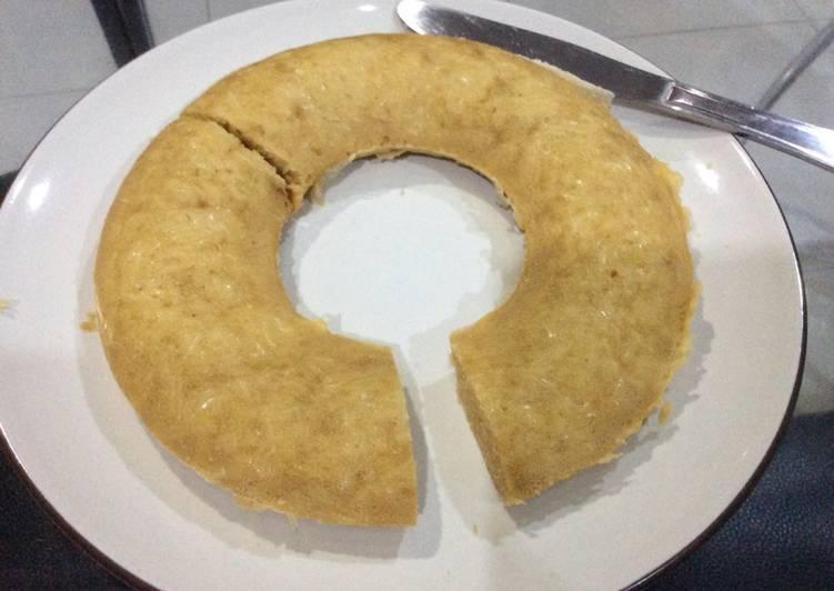 Cara Gampang Menyiapkan Bolu kukus yummy tanpa mixer, Enak Banget