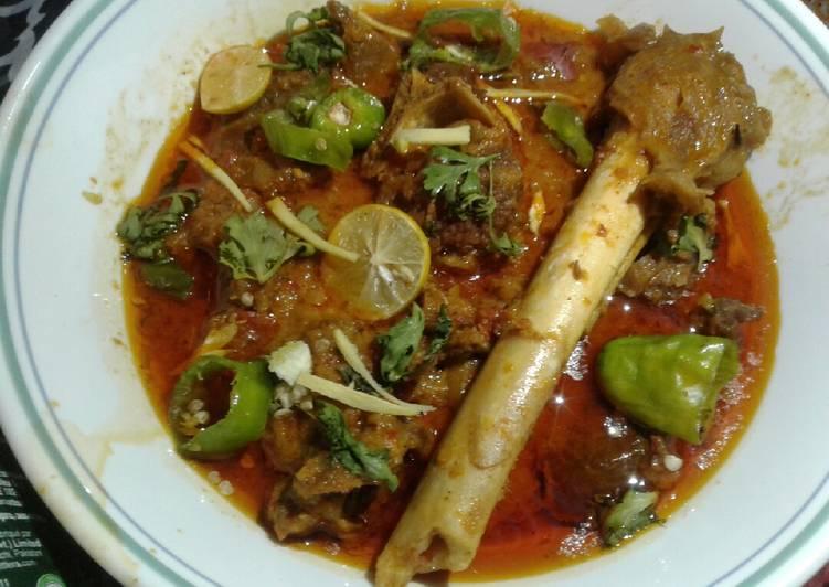 Recipe of Quick Mutton karhai