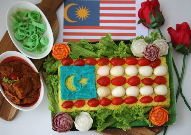 Pulut Kuning Sejahtera Malaysia #ChefZam