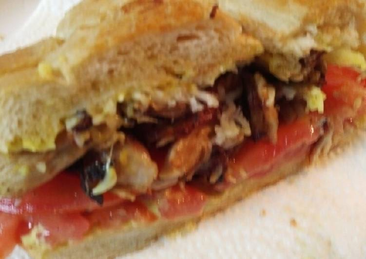 Recipe of Perfect Leftover Roasted Pork on Cuban Bread