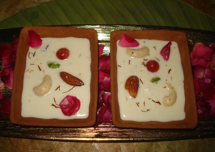 Recipe of Homemade Nuts phirni