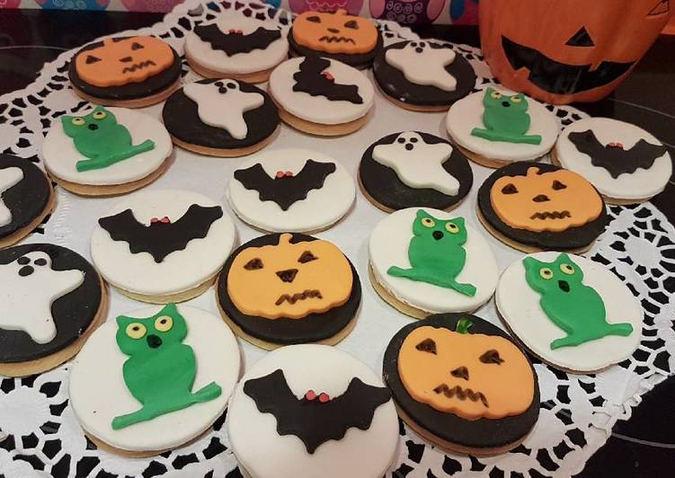 Galletas de mantequilla para Halloween
