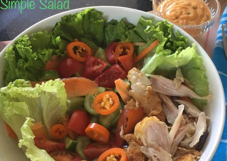 Resep Simple Salad