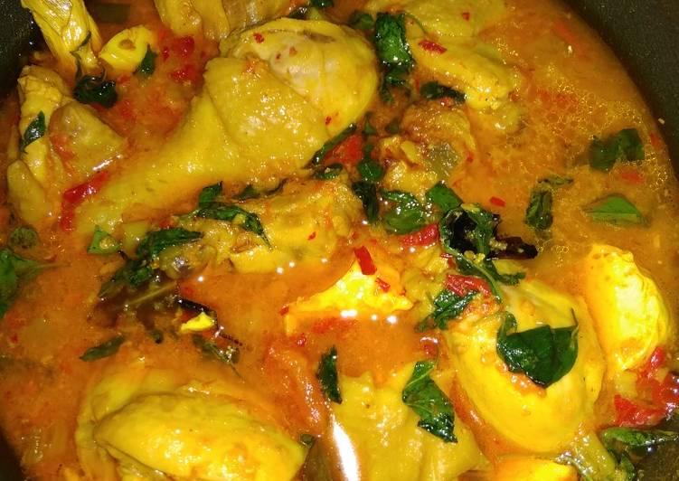 Cara Memasak Ayam woku kemangi sederhana dan enak