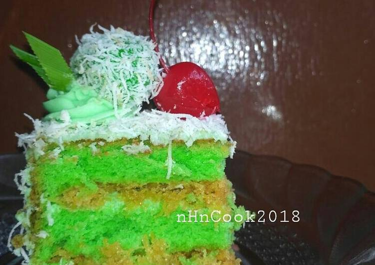 Cake pandan klepon
