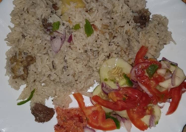 Hearty Comfort Dinner Ideas Winter Beef pilau