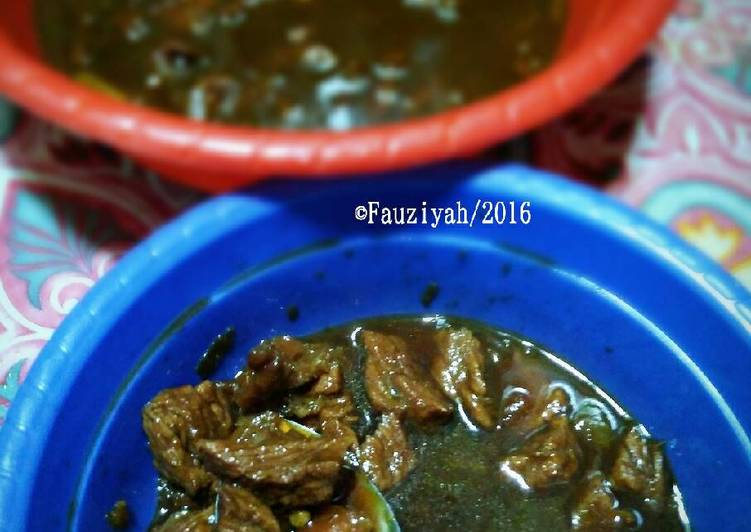 Semur Daging Sapi ala Betawi by Rifdah