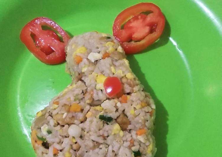 Resep Nasi goreng meriah Lezat Sekali