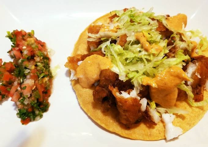 Easiest Way to Prepare Tasty Mexican Chicken Tostada