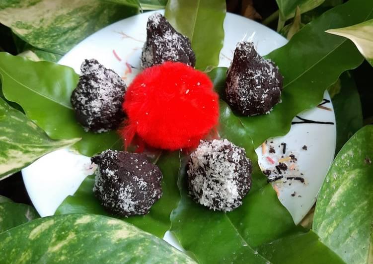 Oreo chocolate modak