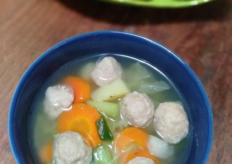 Sup bakso kombor