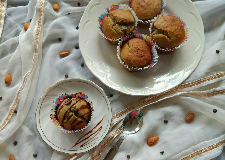 Steps to Make Any-night-of-the-week Eggless Whole Wheat Banana Muffins with Dry Fruits