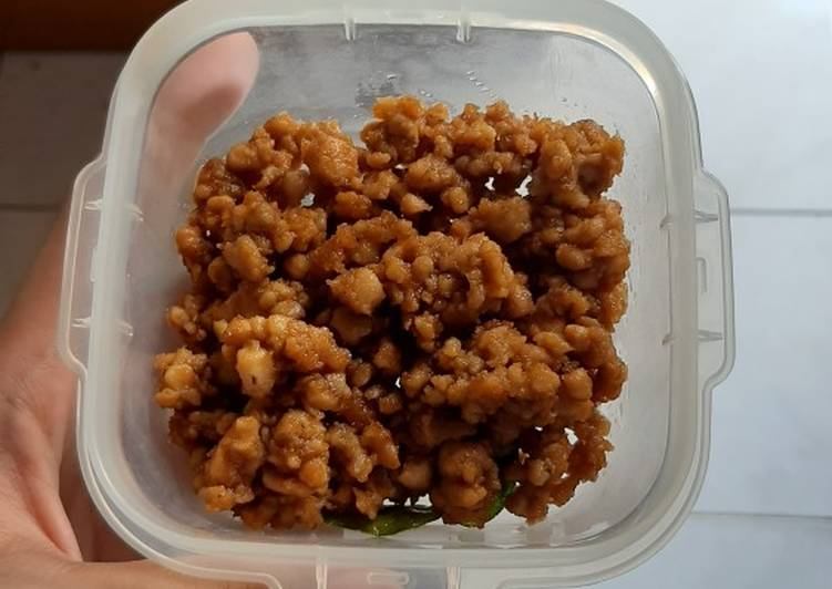 Ayam Saus Kacang Bumbu Sate (MPASI)