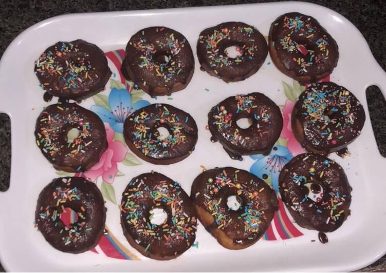 Recipe: Delicious Chocolate donuts