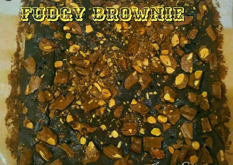 Choco-nut Fudgy Brownie