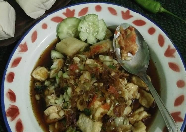 Cara Buat Appetizing Kupat Tahu purworejo