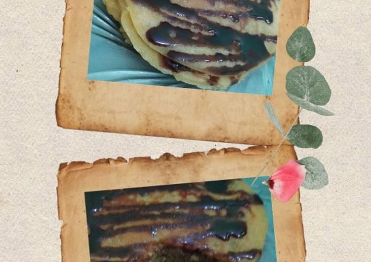 Resep Pancake sederhana ala anak kost Paling dicari