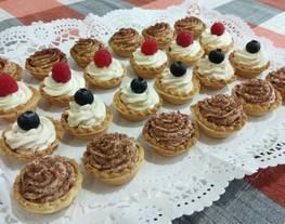 Mini-tartaletas dulces
