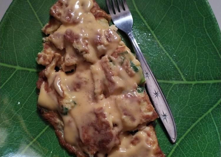 Omelet chese Mozzarella