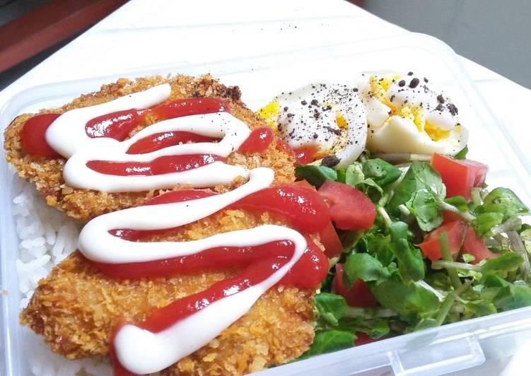Chicken Katsu ala Asti (simple, eazy pizy, harga anak kos)