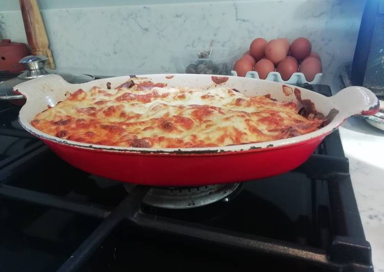 Recipe: Yummy Lasagne with Love