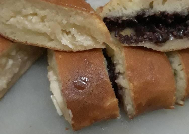 Martabak keju coklat with ❤