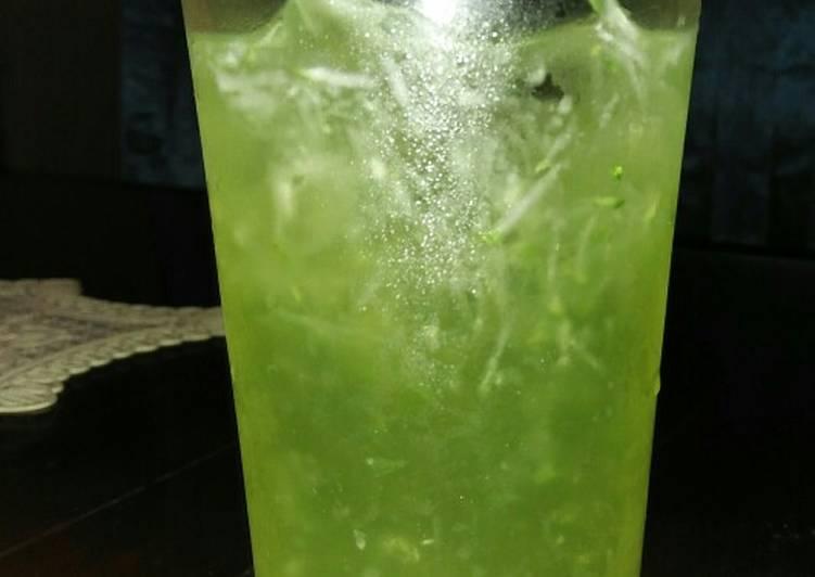 Timun Serut + Syrup Melon
