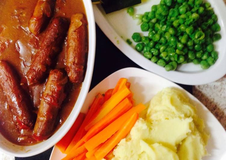 Simple no fuss Sausage and Onion Gravy 😗, Some Foods That Help Your Heart