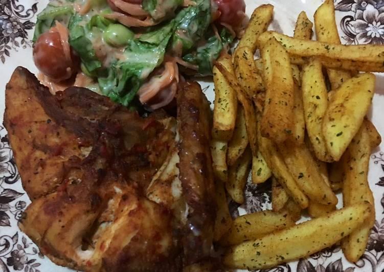 Ayam Peri - Peri ala Nandos