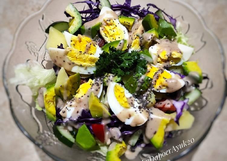Salad Sayur Saos Wijen
