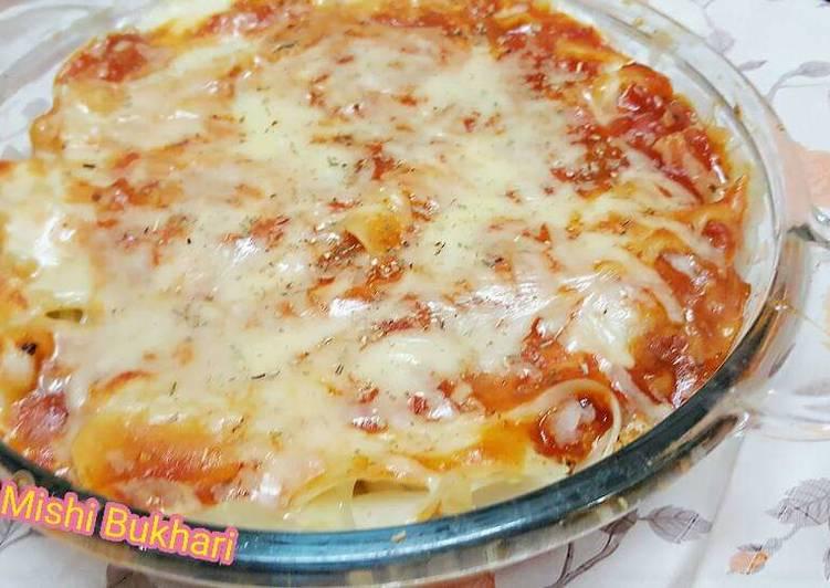 Recipe: Tasty Chicken Lasagne